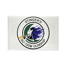 AC-130W Stinger II Rectangle Magnet