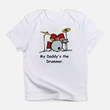Funny Drum girl Infant T-Shirt