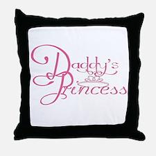 Daddy's Princess Throw Pillow