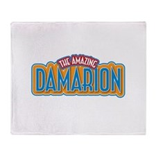 The Amazing Damarion Throw Blanket
