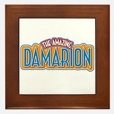 The Amazing Damarion Framed Tile