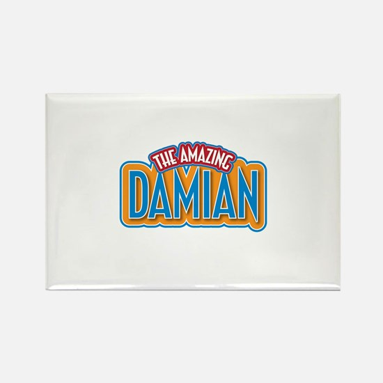 The Amazing Damian Rectangle Magnet