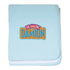 The Amazing Damion baby blanket