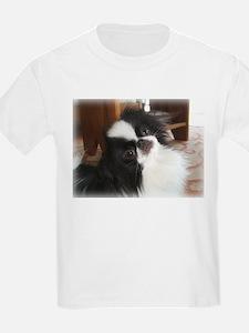 "Japanese Chin ""Palm Pilot"" Kids T-Shirt"