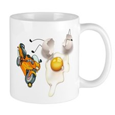 Funny Egg Accident Mug