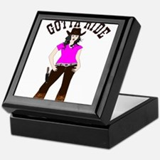 Gotta Ride Cowgirl Keepsake Box