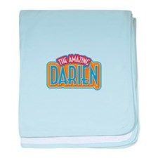 The Amazing Darien baby blanket