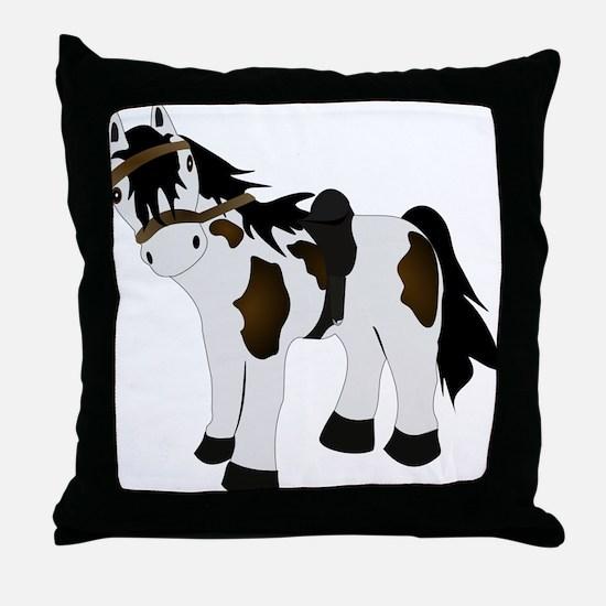 Paint Pony Throw Pillow