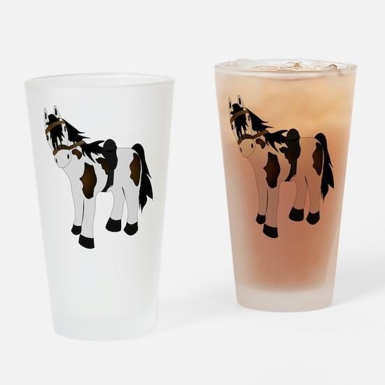Paint Pony Drinking Glass
