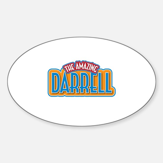 The Amazing Darrell Decal