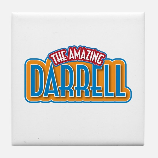 The Amazing Darrell Tile Coaster