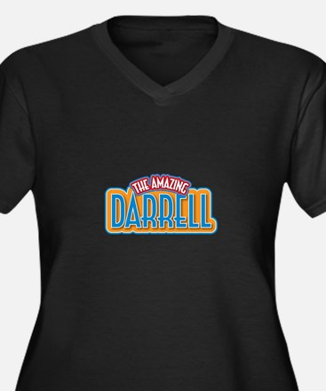 The Amazing Darrell Plus Size T-Shirt