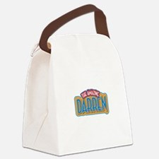 The Amazing Darren Canvas Lunch Bag