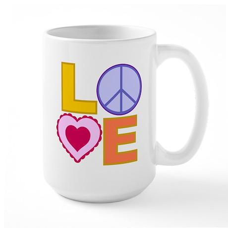 Love Art Large Mug