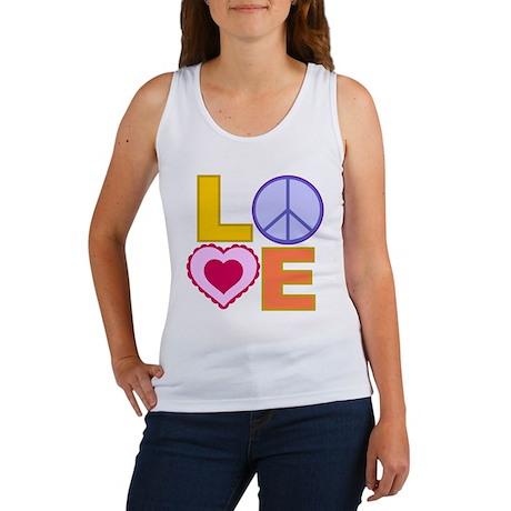 Love Art Women's Tank Top