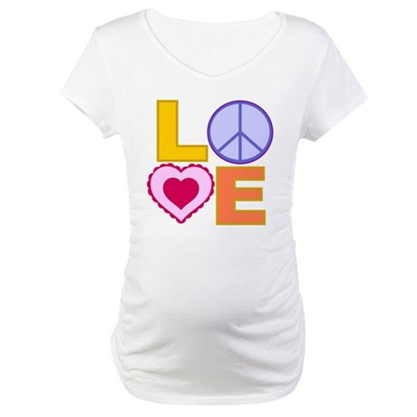 Love Art Maternity T-Shirt