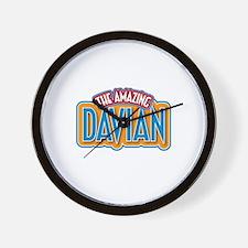 The Amazing Davian Wall Clock
