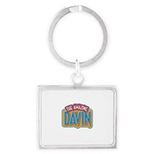 The Amazing Davin Keychains