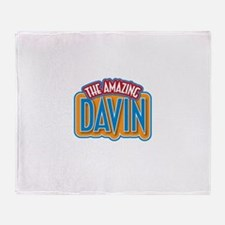 The Amazing Davin Throw Blanket