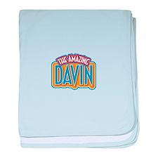 The Amazing Davin baby blanket