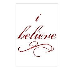 I Believe (fancy) Postcards (Package of 8)