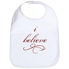 I Believe (fancy) Bib