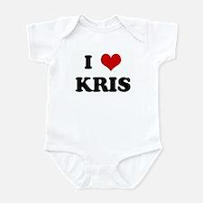 I Love KRIS Infant Bodysuit