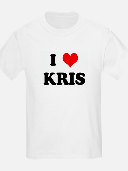 I Love KRIS Kids T-Shirt