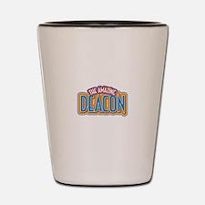 The Amazing Deacon Shot Glass