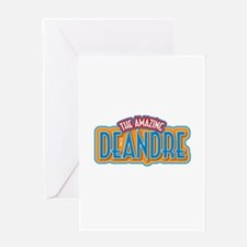 The Amazing Deandre Greeting Card