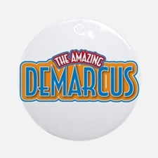 The Amazing Demarcus Ornament (Round)