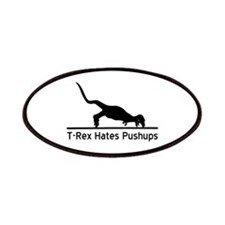 T-Rex Hates Pushups Patches