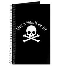 Put A Skull On It Journal