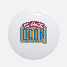 The Amazing Deon Ornament (Round)