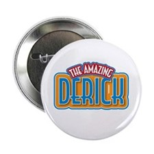 "The Amazing Derick 2.25"" Button"