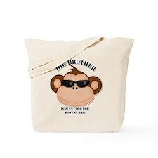big brother body guard monkey Tote Bag