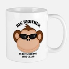 big brother body guard monkey Mug