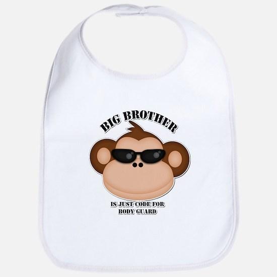 big brother body guard monkey Bib