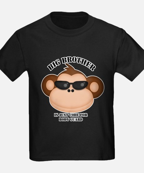 big brother body guard monkey T-Shirt