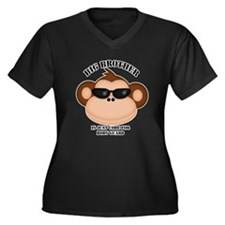 big brother body guard monkey Plus Size T-Shirt