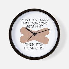 Hurt -  Wall Clock
