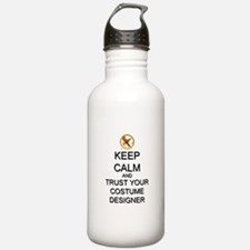 Keep Calm Costume Designer Hunger Games Water Bottle