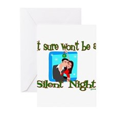 Won't be a Silent Night Greeting Cards (Package of