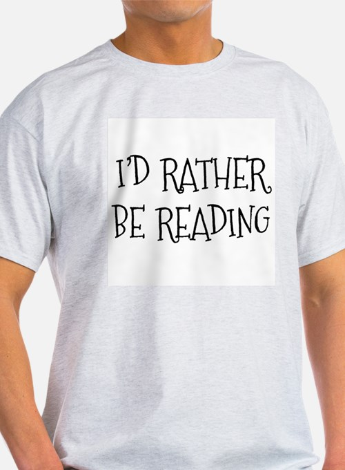 Rather Be Reading Playful T-Shirt
