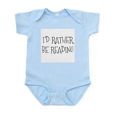 Rather Be Reading Playful Infant Bodysuit