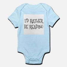 Rather Be Reading Playful Infant Bodysuit