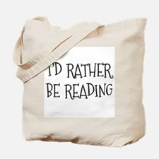 Rather Be Reading Playful Tote Bag