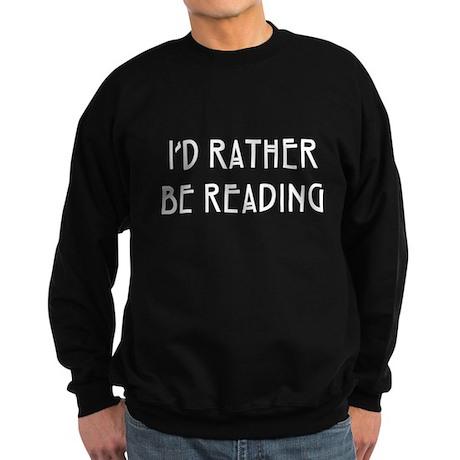 Rather Be Reading Nouveau Sweatshirt (dark)