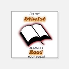 I did read it! Sticker