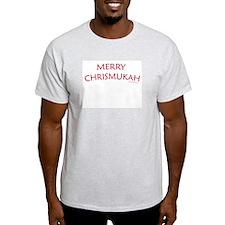 Merry Chrismukah - Ash Grey T-Shirt